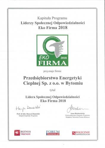 Eko Firma 2018